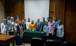 Faculty of Science receives the delegation of the Information, Documentation and Decision Support Center, Alexandria University